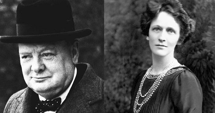 Winstons S. Churchills (1874-1965) og Nancy Astor (1879-1964)