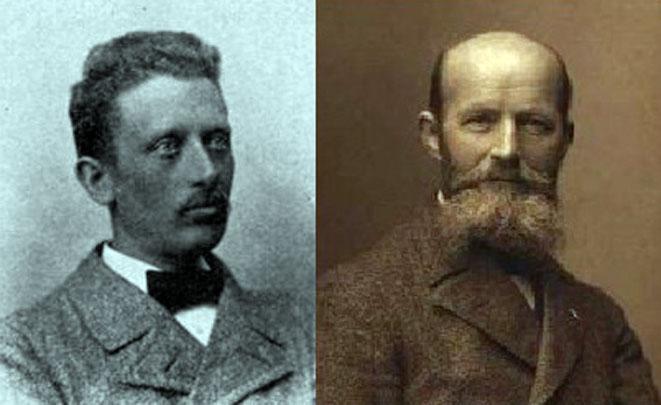 Adolf Oppermann (1861-1931) og Carl Vilhelm Prytz (1857-1928)