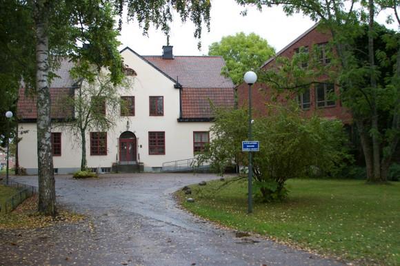 Hér var Växtbiologiska Institutionen til húsa í fjölmörg ár. - Nú er hún Snorrabúð stekkur. Ljósm. ÁHB.