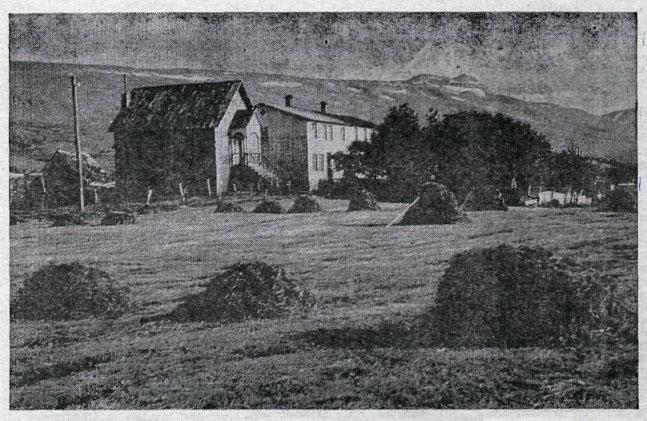Ketilsstaðir á Völlum.