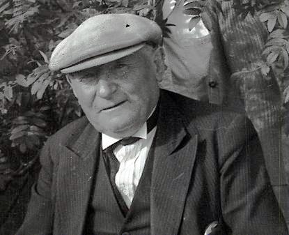 Hjalti skipstjóri Jónsson eða Eldeyjar-Hjalti (1869-1949). Ljósm. Hákon Bjarnason.