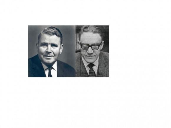 Hákon Bjarnason og Halldór Pálsson.